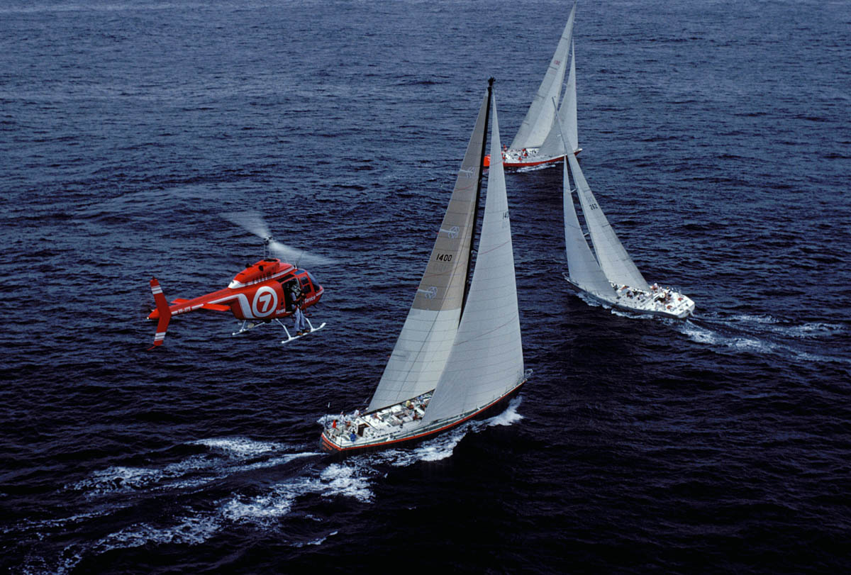 Channel 7's Sydney to Hobart coverage