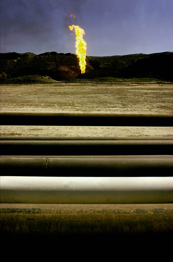 Marun Oilfield, Iran. UK editorial